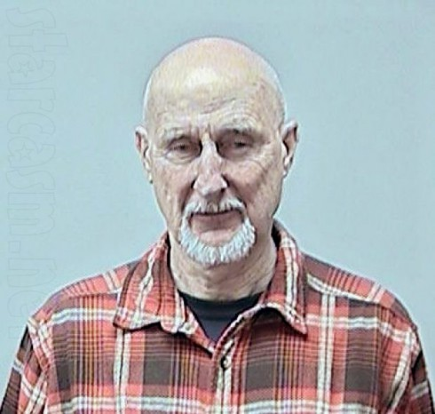 Actor James Cromwell mug shot photo