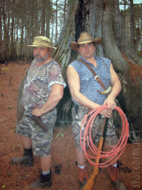 David LaDart and Jeromy Pruitt Swamp People Season 4 new cast members