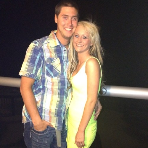 Teen Mom Leah Calvert and husband Jeremy Calvert