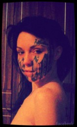 Russian woman tattoos boyfriend's name on her face less than 24 hours after meeting him