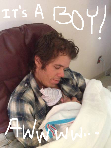 Perez Hilton adopts an infant son