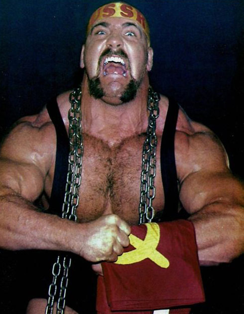 The Russian Nightmare Nikita Koloff cast for Preachers' Daughters