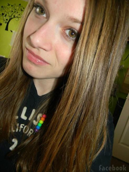 Suspended Utah middle schooler Rylee MacKay with brown hair