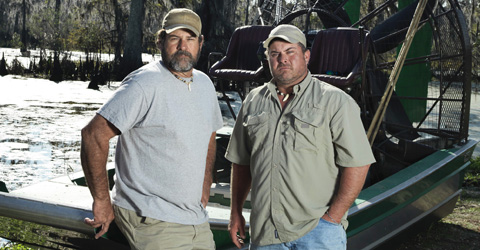 New Swamp People Troy Broussard Harlan Hatcher