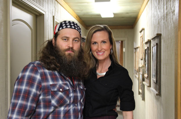 Willie and Korie Robertson Duck Dynasty