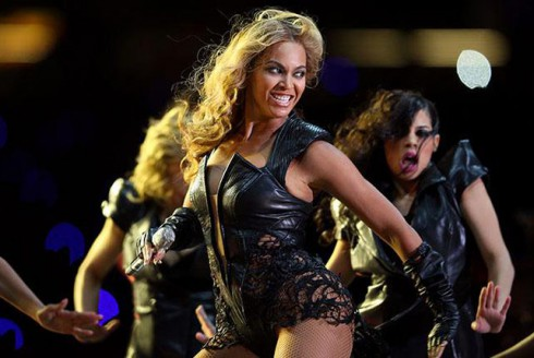 Beyonce Super Bowl photo