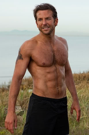 Shirtless Bradley cooper abs