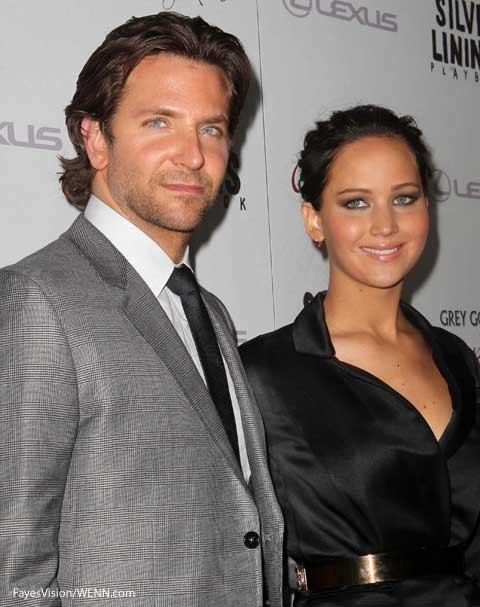 Jennifer Lawrence and Silver LInings costar Bradley Cooper