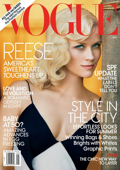 Reese Witherspoon Vogue Cover Veronica Lake