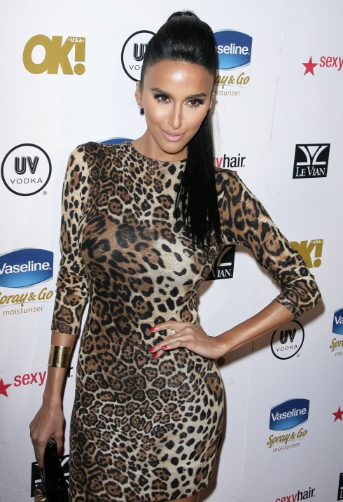 'Shahs of Sunset' star Lilly Ghalichi attends OK! Magazine's Annual Pre-Oscar Party held at the Emerson Theatre in Los Angeles, California, United States.