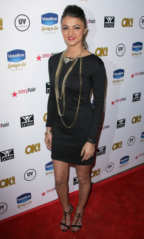 "Golnesa ""GG"" Gharachedaghi OK! Magazine's Annual Pre-Oscar Party held at the Emerson Theatre in Los Angeles, California, United States."
