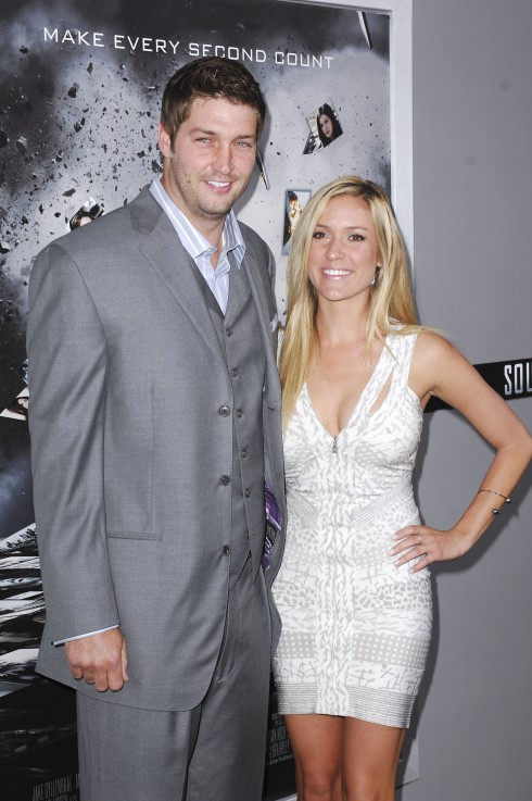 Jay Cutler and Kristin Cavallari at the Los Angeles Premiere of 'Source Code' held at the Arclight Cinerama Dome in Los Angeles, California.