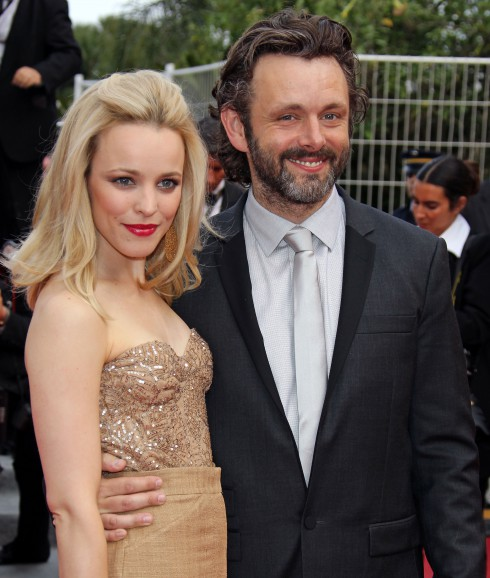 Rachel McAdams and Michael Sheen attend the 2011 Cannes International Film Festival - Day 2 - Sleeping Beauty Premiere in Cannes, France.
