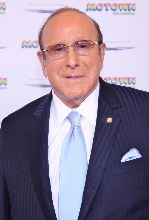 Clive Davis attends The Launch of 'Motown: The Musical', held at the Nederlander Theatre –in New York City, USA.