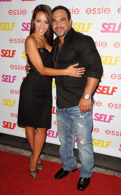 Melissa Gorga and Joe Gorga attend Self Magazine 'Rocks The Summer' at Kiss &amp; Fly in New York City, USA.