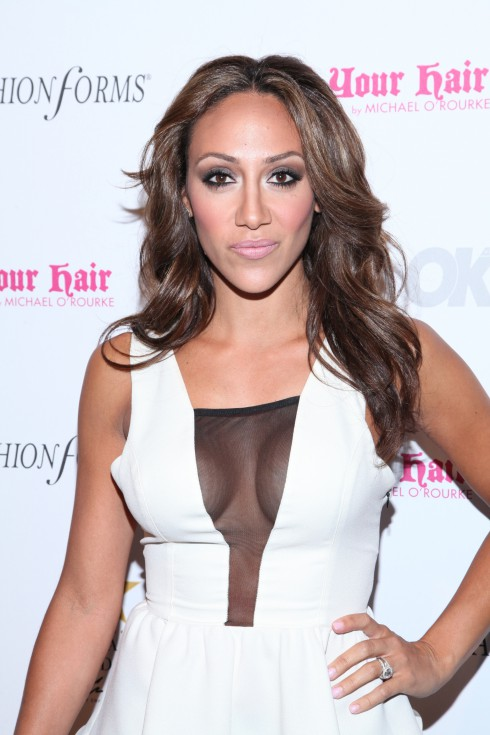Melissa Gorga attends OK! Magazine's 5th Annual Fashion Week Celebration at Cielo in New York City, USA.