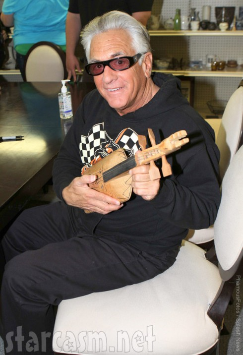 Storage Wars' Barry Weiss at Brandi and Jarrod's second store opening in Long Beach