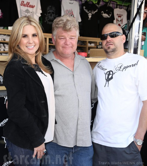 Storage Wars auctioneer Dan Dotson joins Brandi and Jarod at their Long Beach store opening