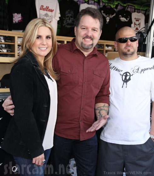 Ghost Hunters' Britt Griffith with Storage Wars' Brandi and Jarrod