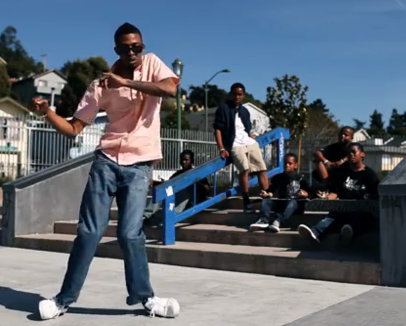 D-Real World of Jenks turf dancing