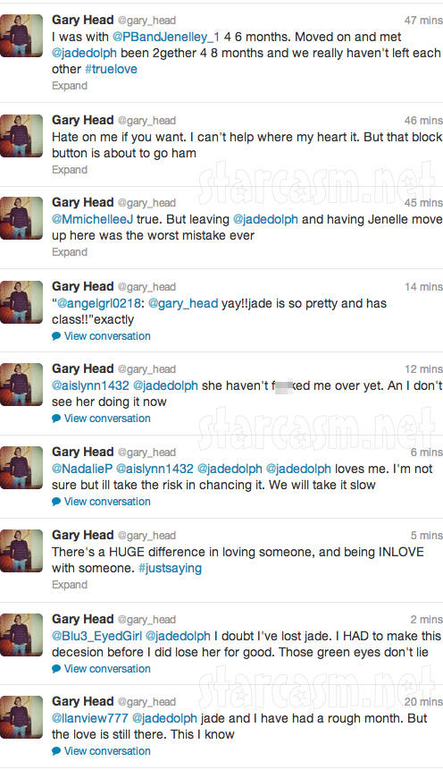 Gary Head breaks up with Jenelle Evans on Twitter