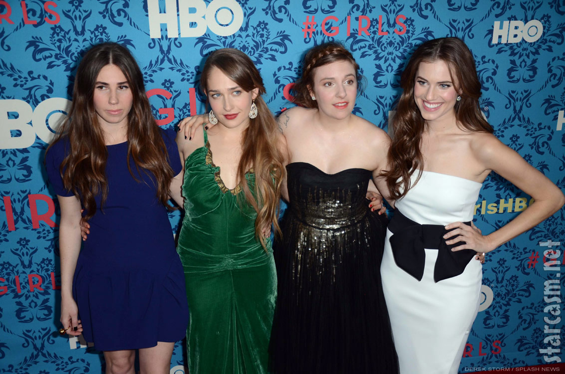 Girls hbo show cast with