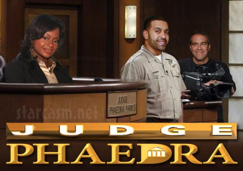 Phaedra Parks to get Judge Judy type reality show spin off?