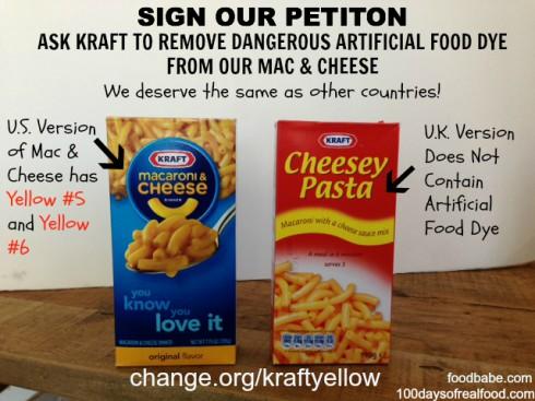 Kraft yellow Dye Petition