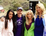 Kyle Richards Josh Stolberg Camille Grammer Brandi Glanville The Hungover Games set