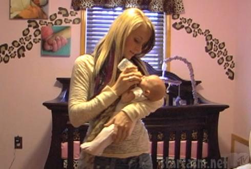 Leah Calvert daughter Adalynn's nursery