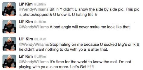 Lil-Kim-Wendy-Williams-tweets