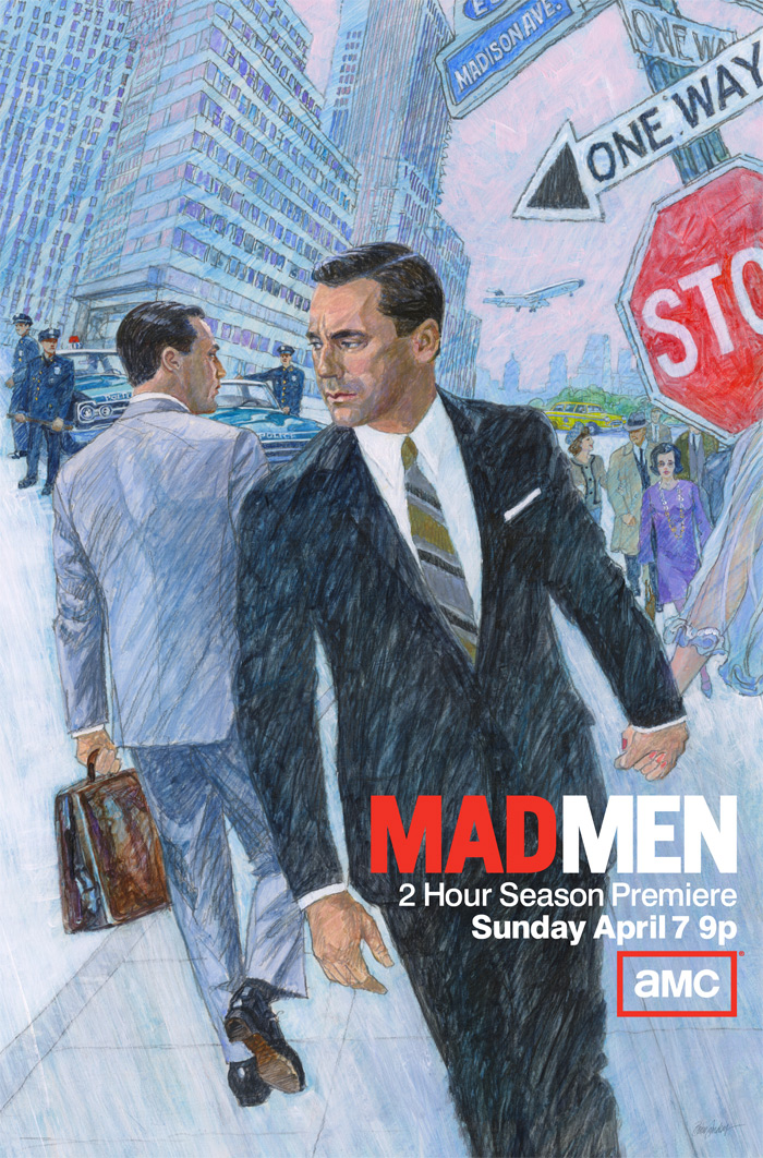 PHOTOS Mad Men Season 6 poster and the original 1964 ...