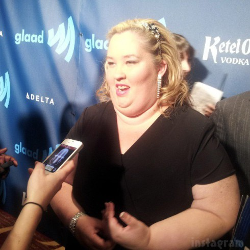 Mama June GLAAD red carpet