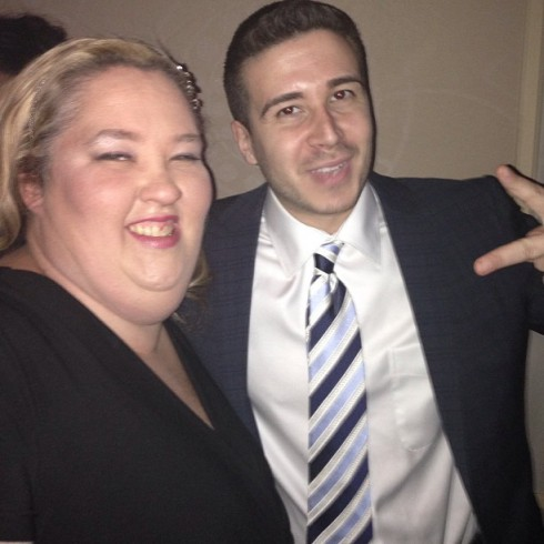 Honey Boo Boo's Mama June with Vinny Guadagnino from Jersey Shore