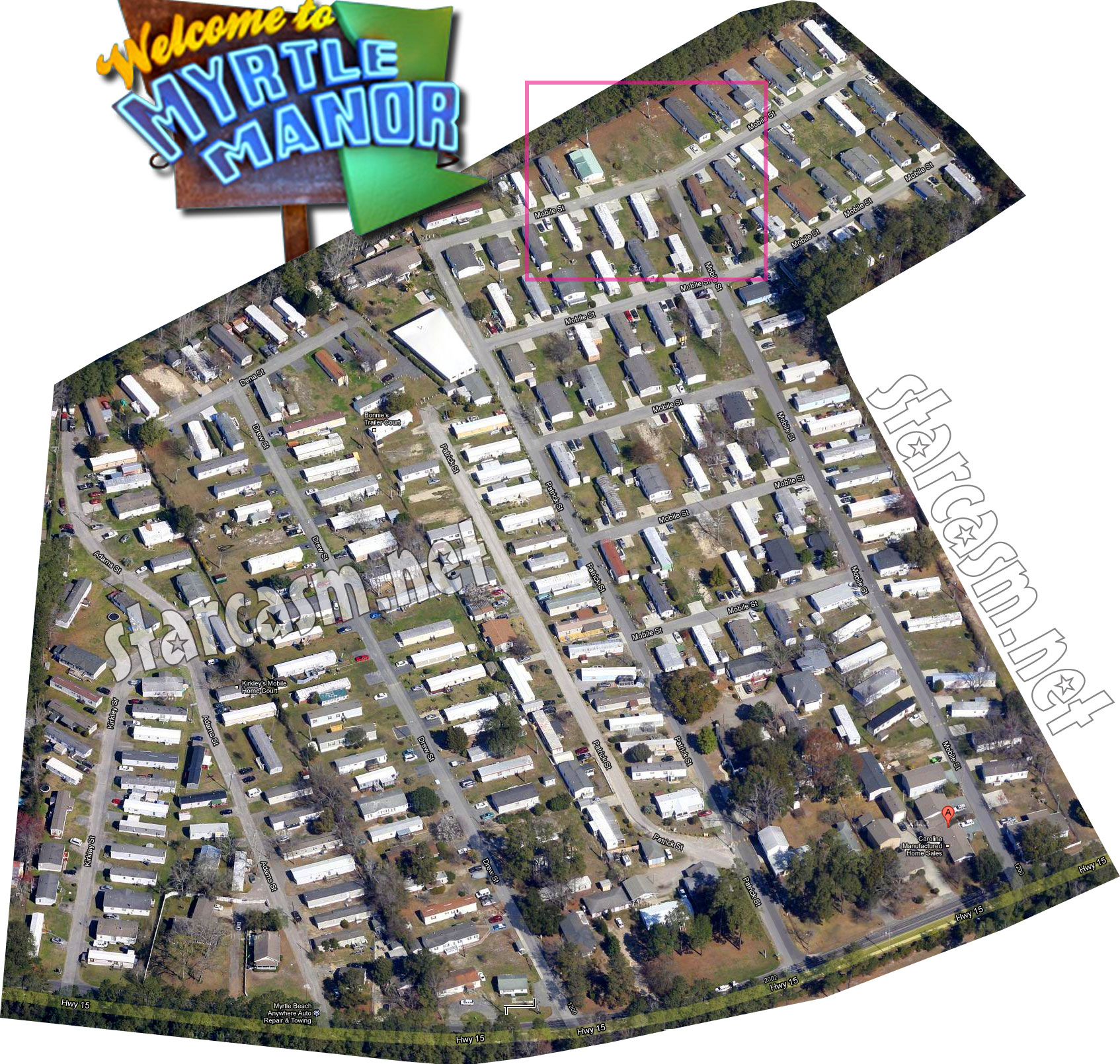 Where is Myrtle Manor? Welcome To Myrtle Manor map and trailer ...