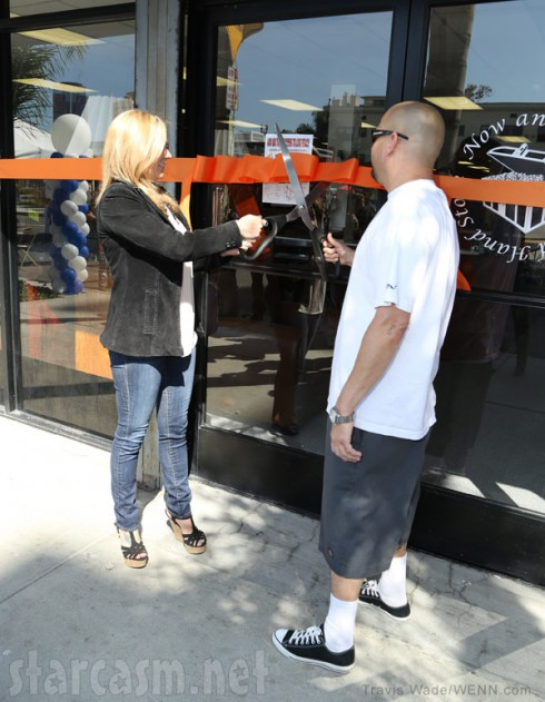 Storage Wars Brandi and Jarrod open new store in Long Beach