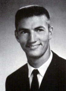 Phil Robertson as a student at Louisiana Tech in 1967