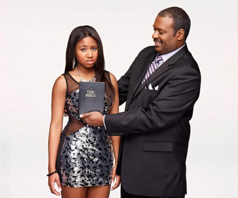 Preachers' Daughters Taylor Coleman and dad Kenneth Coleman