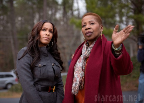 Sheree Whitfield on Iyanla: Fix My Life