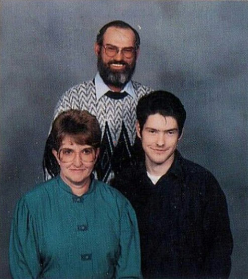 Si Robertson's wife Christine and family