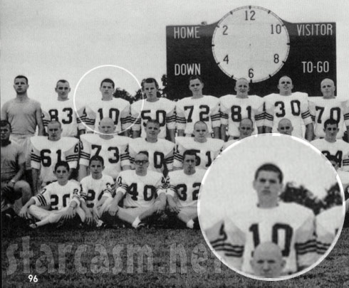 Duck Dynasty Si Robertson high school football photo