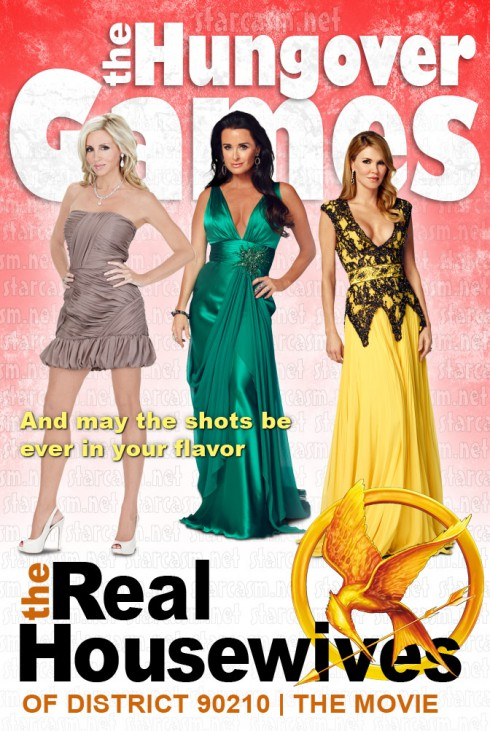 The Hungover Games movie starring Kyle Richards Brandi Glanville and Camille Grammer