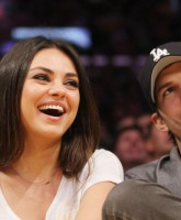 Celebrities watch the LA Lakers vs. Phoenix Suns at the Staples Center