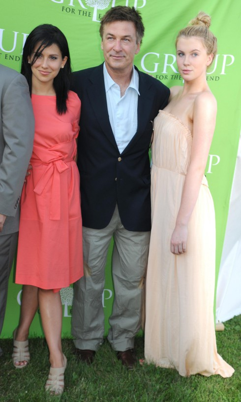 Hilaria Thomas, Alec Baldwin, Ireland Baldwin East End's 40th Anniversary Benefit and Auction in Sagaponack, New York.
