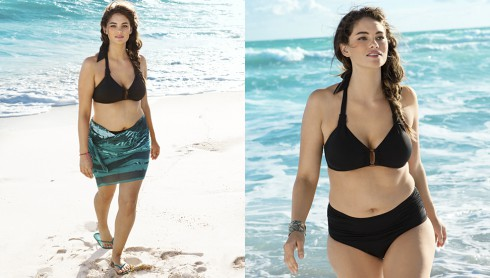 Plus-size model Jennie Runk for H&M