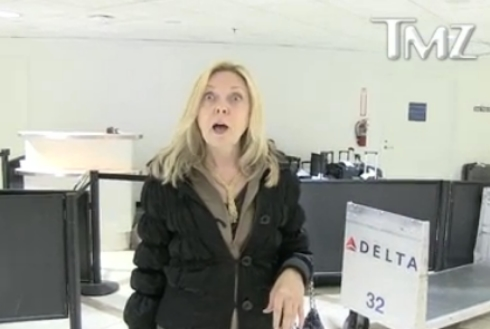 Debra Danielson talks about James Deen at the airport