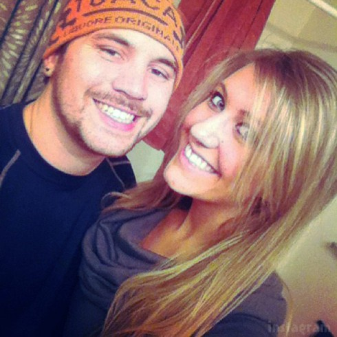 Teen Mom 2 Adam Lind and girlfriend Taylor Halbur