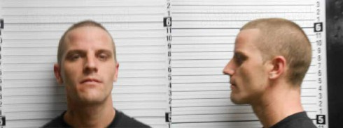 Courtland Rogers mug shot photos from 2013 heroin arrest with Jenelle Evans