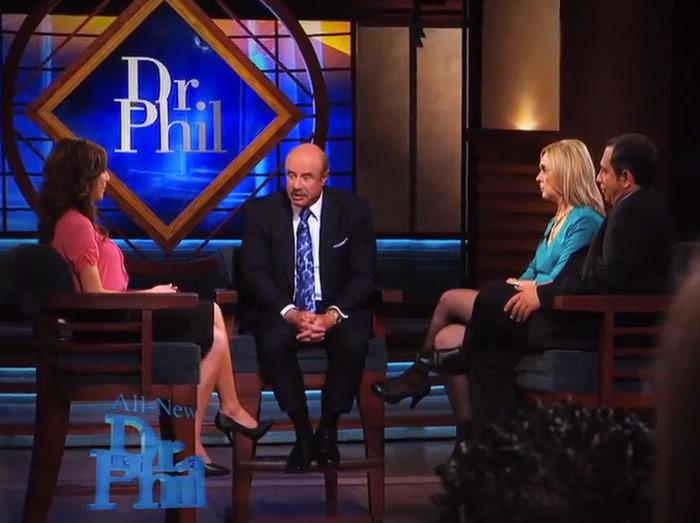 Farrah Abraham her mom Debra Danielsen and dad Michael on Dr. Phil