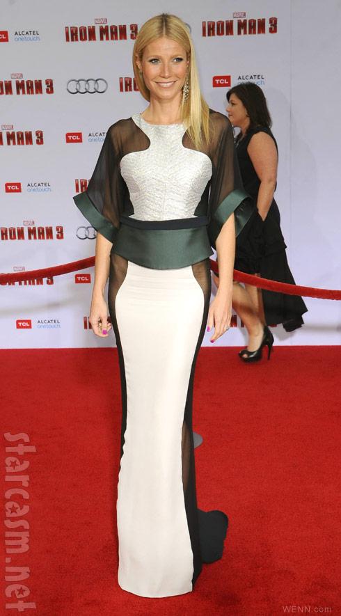 Gwyneth Paltrow Dress Iron Man